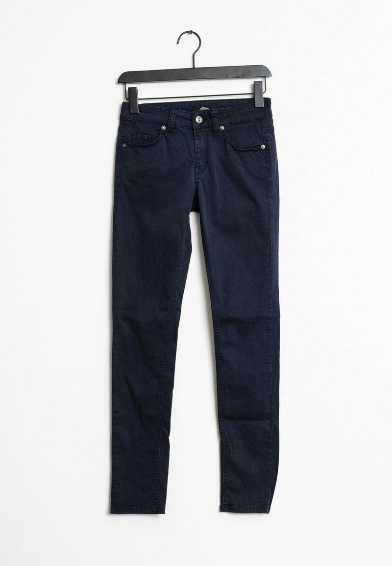 s.Oliver BLACK LABEL - Slim fit jeans - blue