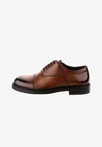 ANCONA  - Smart lace-ups - brown