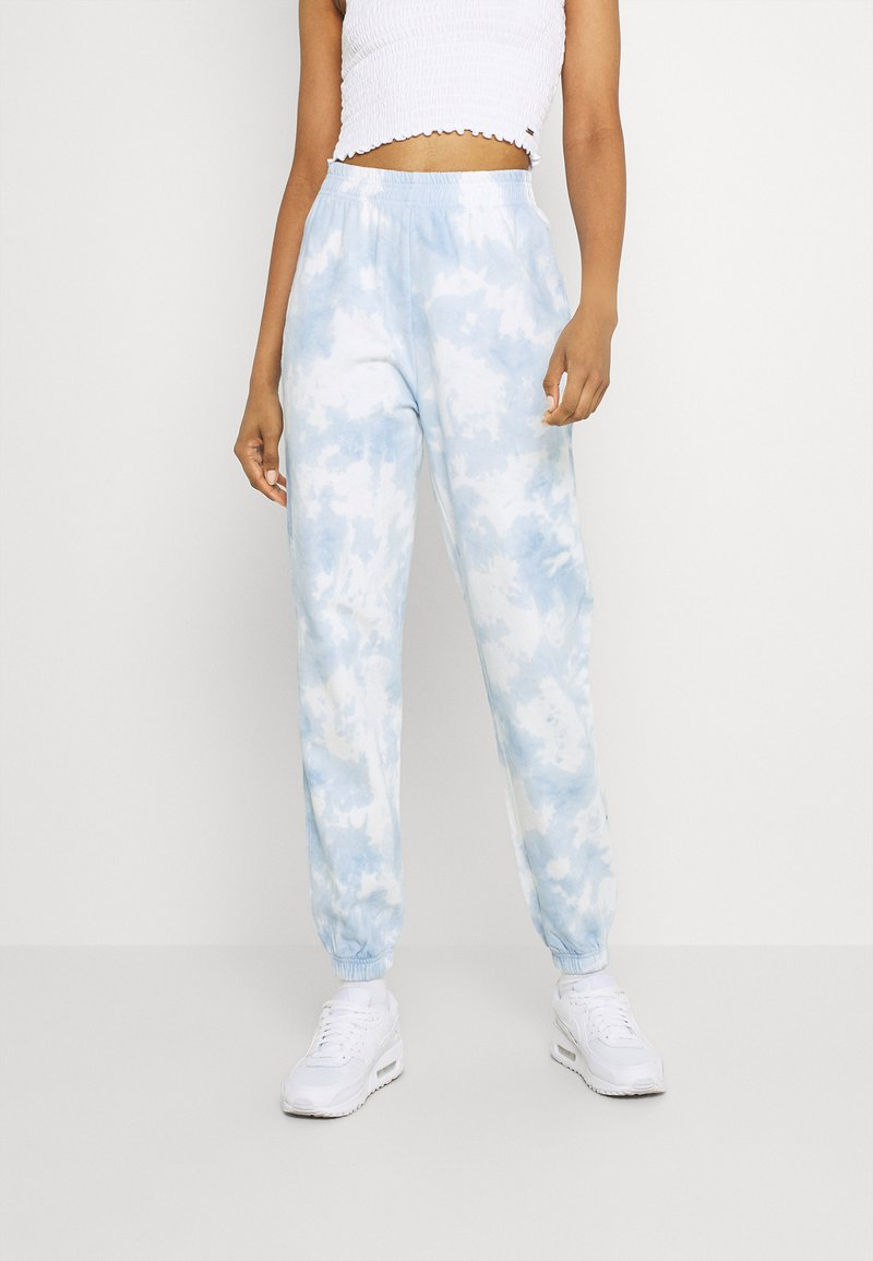 Gina Tricot - JACKIE - Tracksuit bottoms - blue