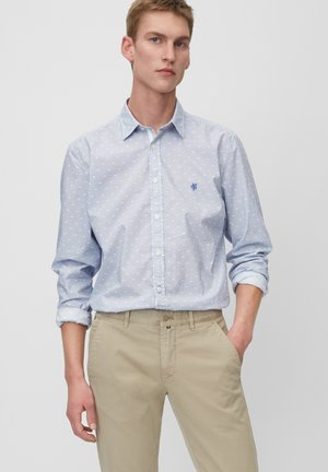 REGULAR FIT - Shirt - mottled blue