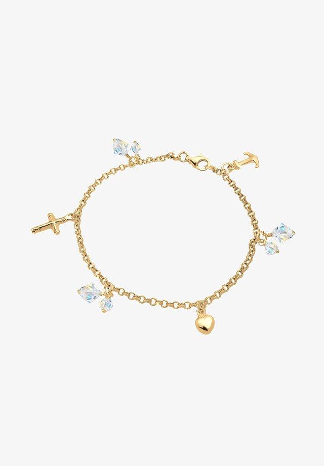 CROSS ANCHOR - Armband - gold