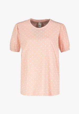 Print T-shirt - light-rose