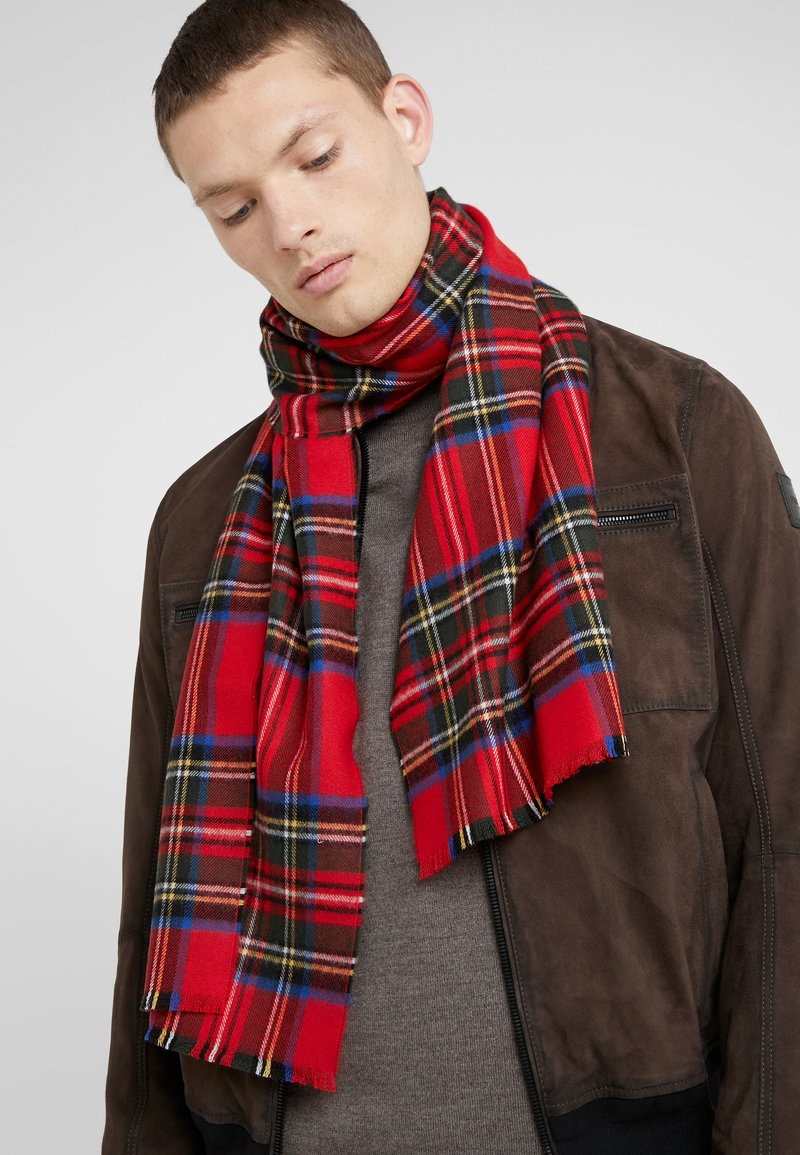 Johnstons of Elgin - TARTAN SCARF UNISEX - Halsduk - royal stewart
