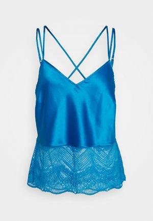 AUTO CAMI - Pyžamový top - bright blue