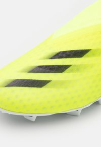 adidas Performance - X GHOSTED.3 LL FG - Moulded stud football boots - solar yellow/core black/royal blue - 5