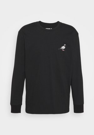 UNISEX CLASSIC LONG SLEEVE TEE - Long sleeved top - black