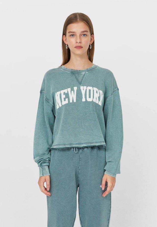 Bluza - turquoise