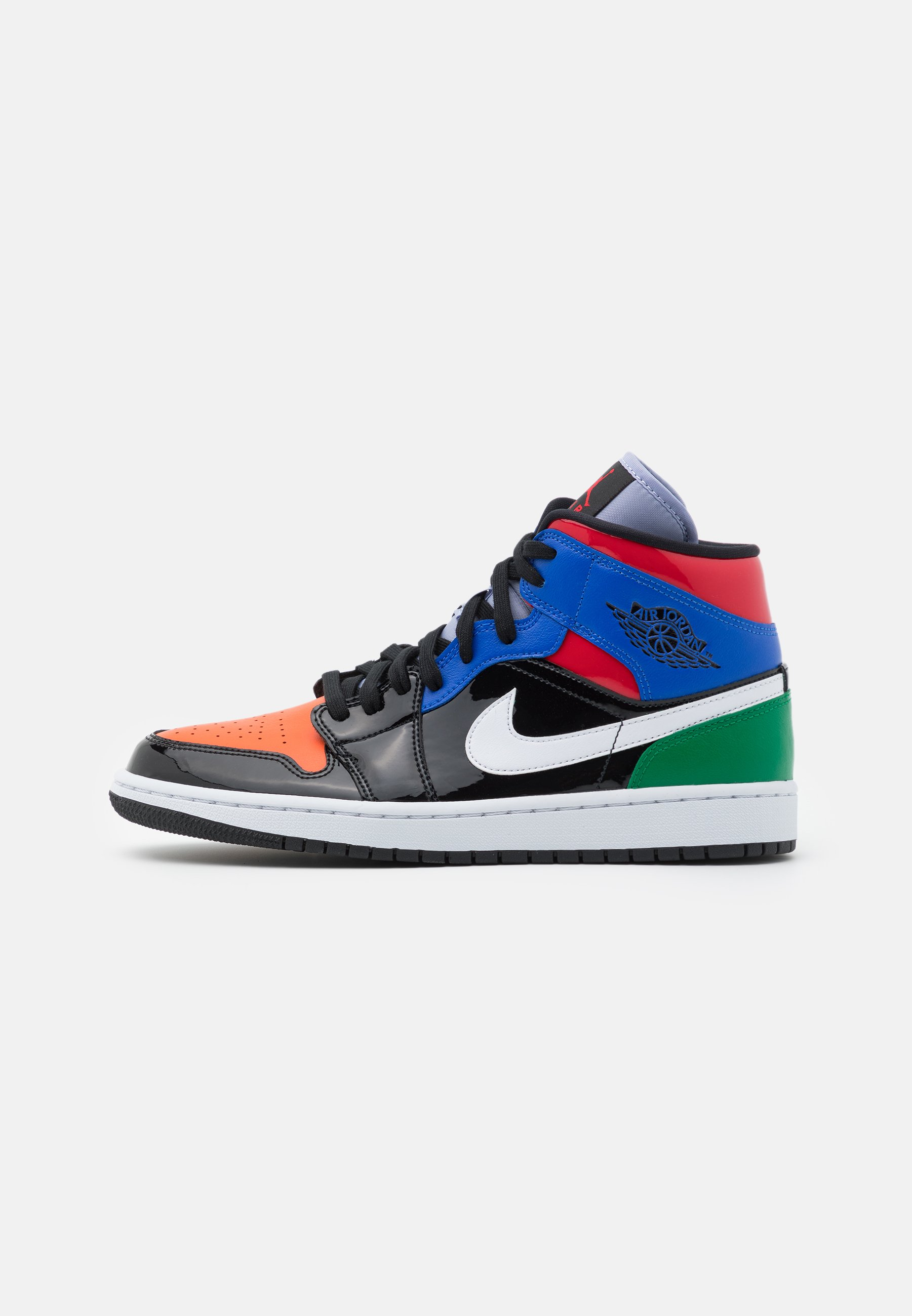 AIR 1 MID SE - Sneakers alte - black/university red/hyper royal/pine  green/purple rise/orange pulse