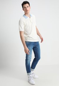 Replay - HYPERFLEX ANBASS - Slim fit jeans - dark blue denim - 1