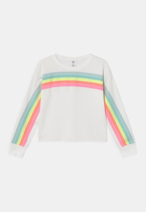 GIRL CUTOFF CREW - Sweatshirt - new off white