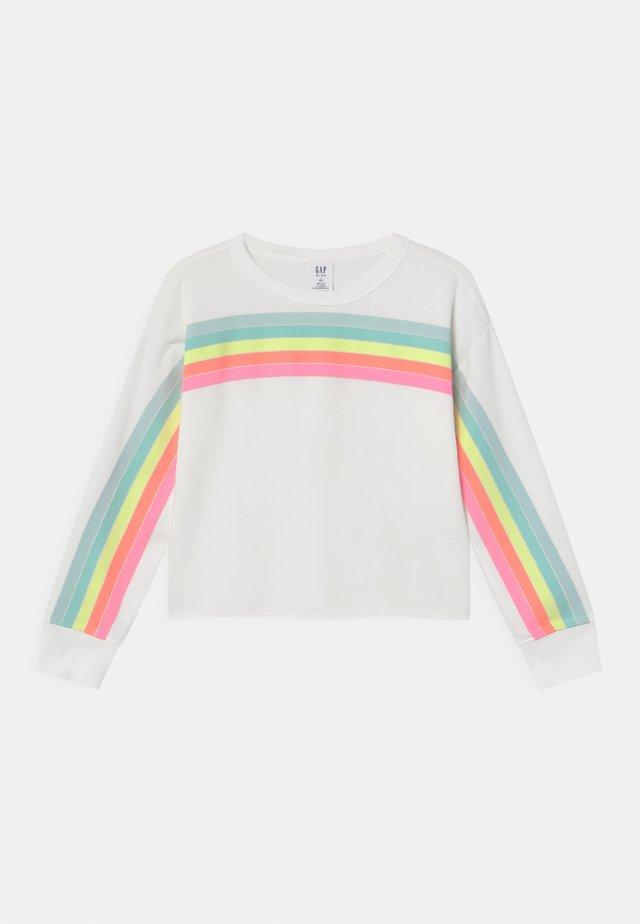 GIRL CUTOFF CREW - Sweater - new off white