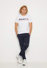 GANT - RETRO SHIELD - Print T-shirt - white - 3