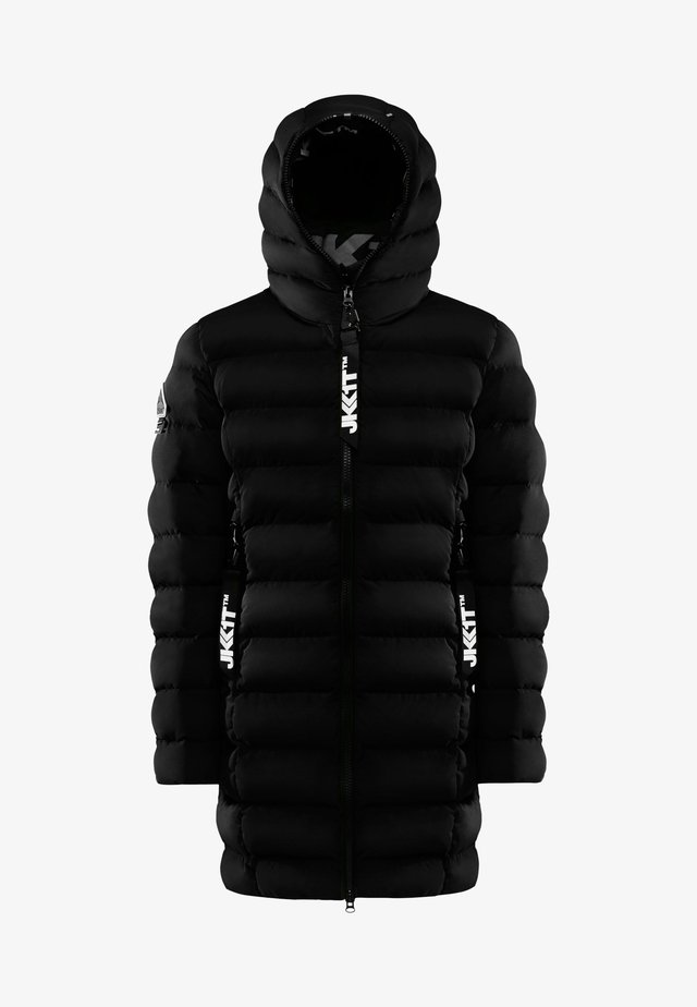 Down coat - black