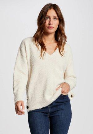 Pullover - white denim