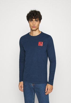 Long sleeved top - petrol blue