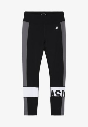COLOR BLOCK - Legging - performance black