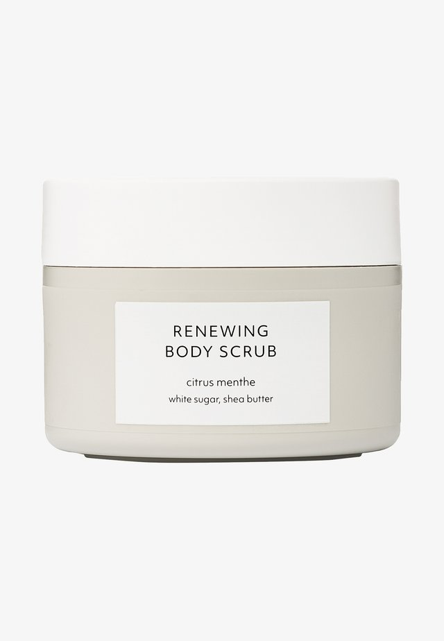 CITRUS MENTHE RENEWING BODY SCRUB - Gommage corps - -