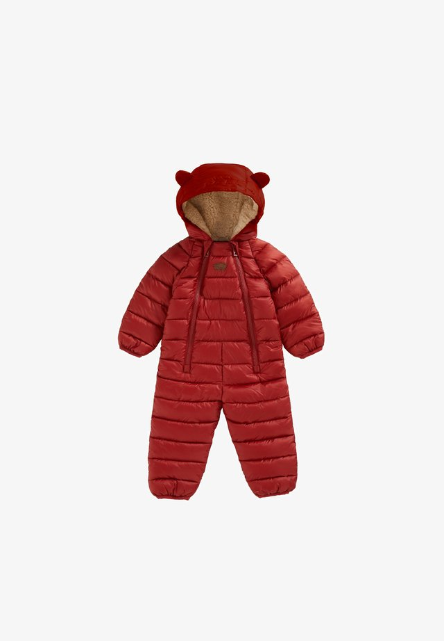 CLOUD - Snowsuit - red