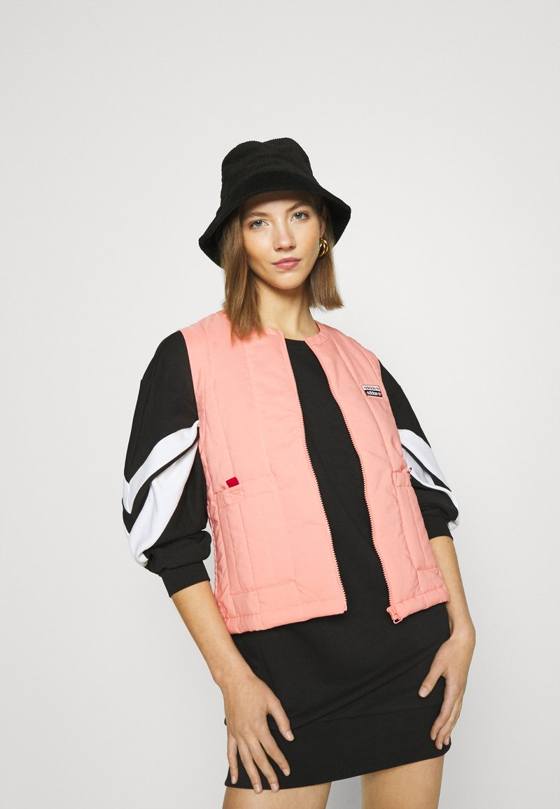 adidas Originals - SPORTS INSPIRED REGULAR VEST - Waistcoat - trace pink