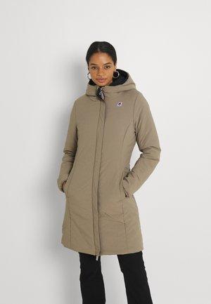 CHARLENE WARM DOUBLE - Winter coat - black/beige