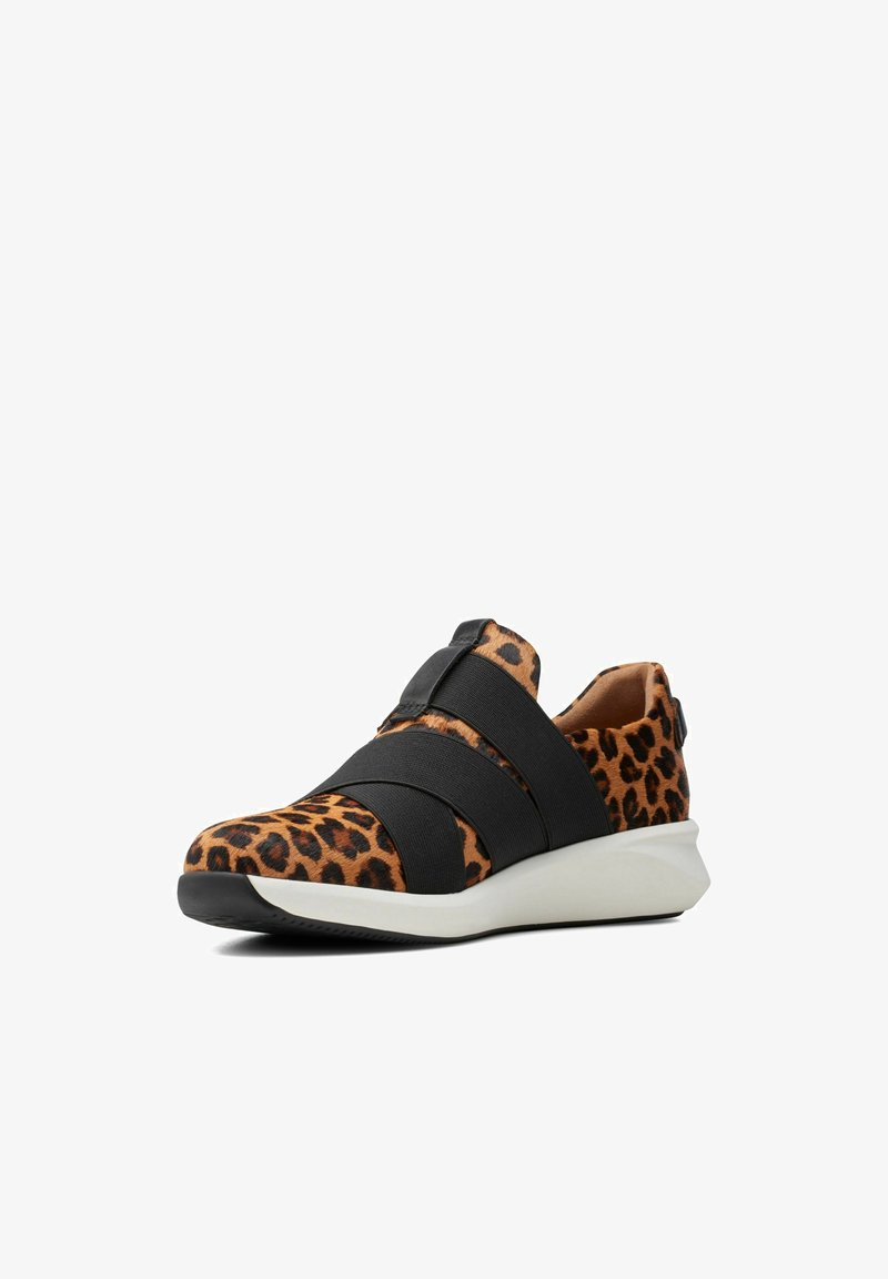 Clarks Unstructured - Trainers - leopard print