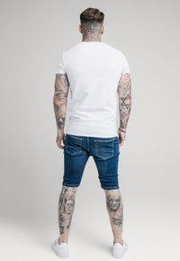 SIKSILK - Denim shorts - midstone - 2