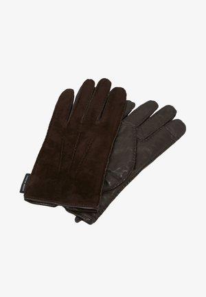 GUSTAVE - Handschoenen - dark brown