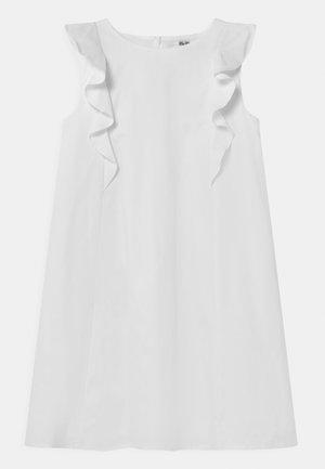 GIRLS - Denní šaty - white