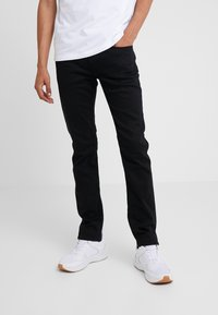 Emporio Armani - Slim fit jeans - denim nero - 0
