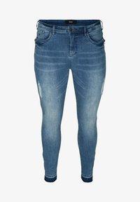 Zizzi - Slim fit jeans - blue - 2