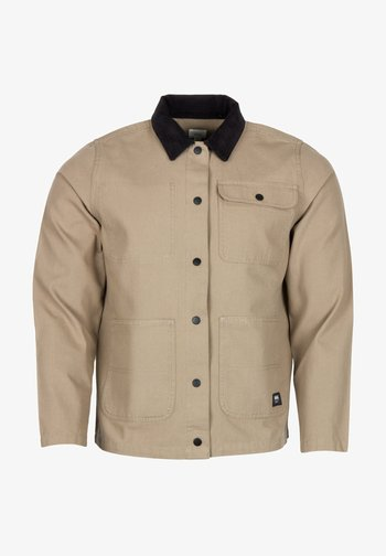 WM DRILL CHORE JACKET WMN - Summer jacket - military khaki