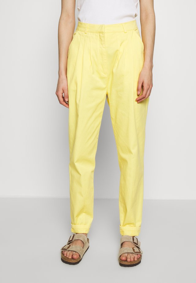DANACRAS PANTS - Bukser - lemon meringue