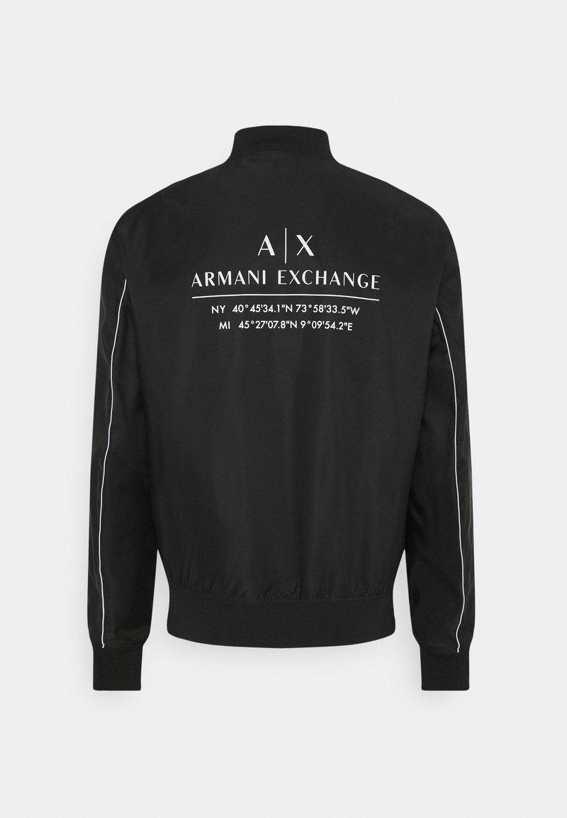 Armani Exchange - JACKET - Korte jassen - black