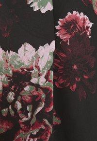 ONLY - ONLTILLY  VNECK - Long sleeved top - black - 5