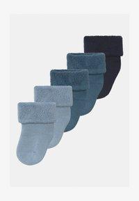 Name it - NBMRAFFEN 5 PACK - Socks - real teal - 0