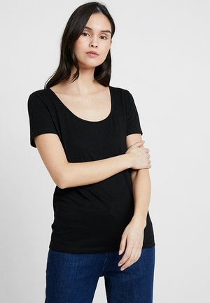 NOBEL TEE - T-shirt basic - black