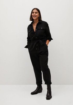 GWYNETH - Jumpsuit - black denim