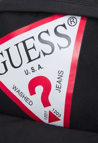 Guess - BACKPACK UNISEX - Plecak - jet black - 6