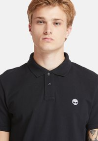 Timberland - MILLERS RIVER - Polo shirt - black - 4