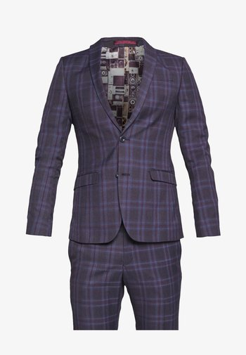CHECK SUIT SKINNY FIT