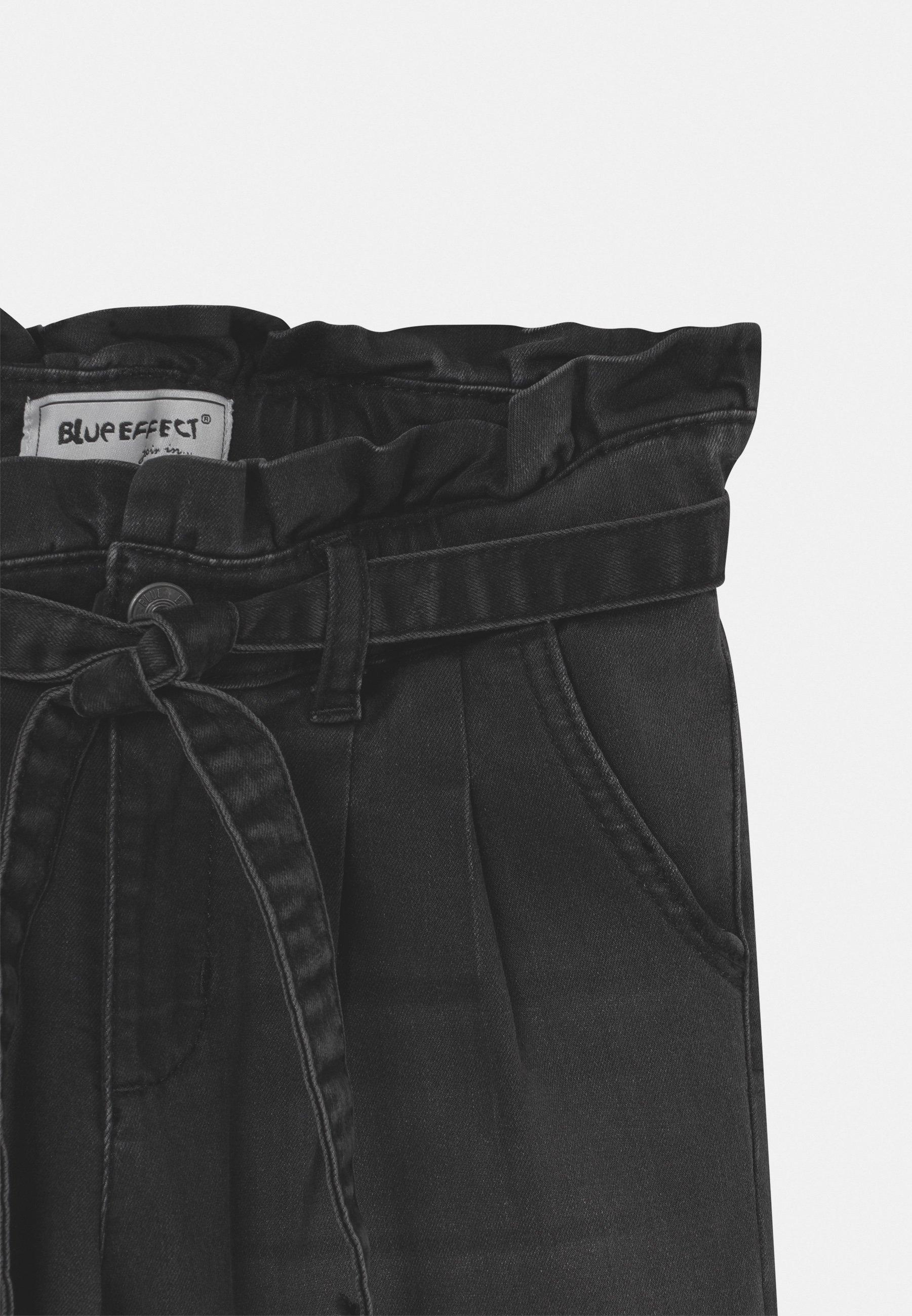 Kids GIRLS HIGH-WAIST PAPERBAG  - Slim fit jeans