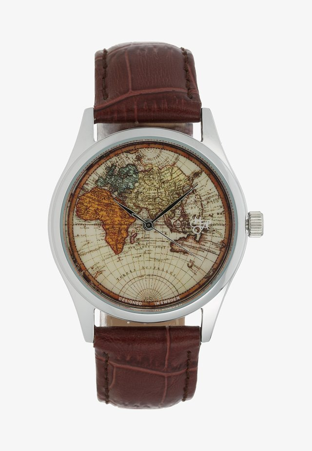 VINTAGE WORLD - Klocka - dark brown