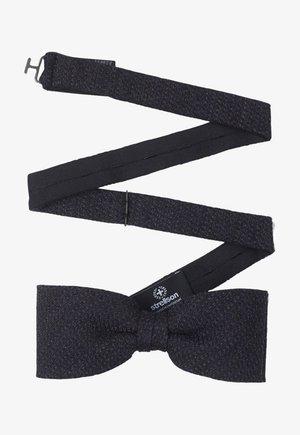 Bow tie - dunkelblau gemustert