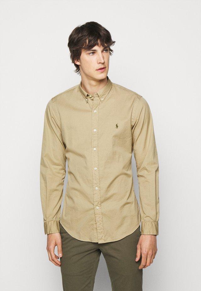Shirt - coastal beige