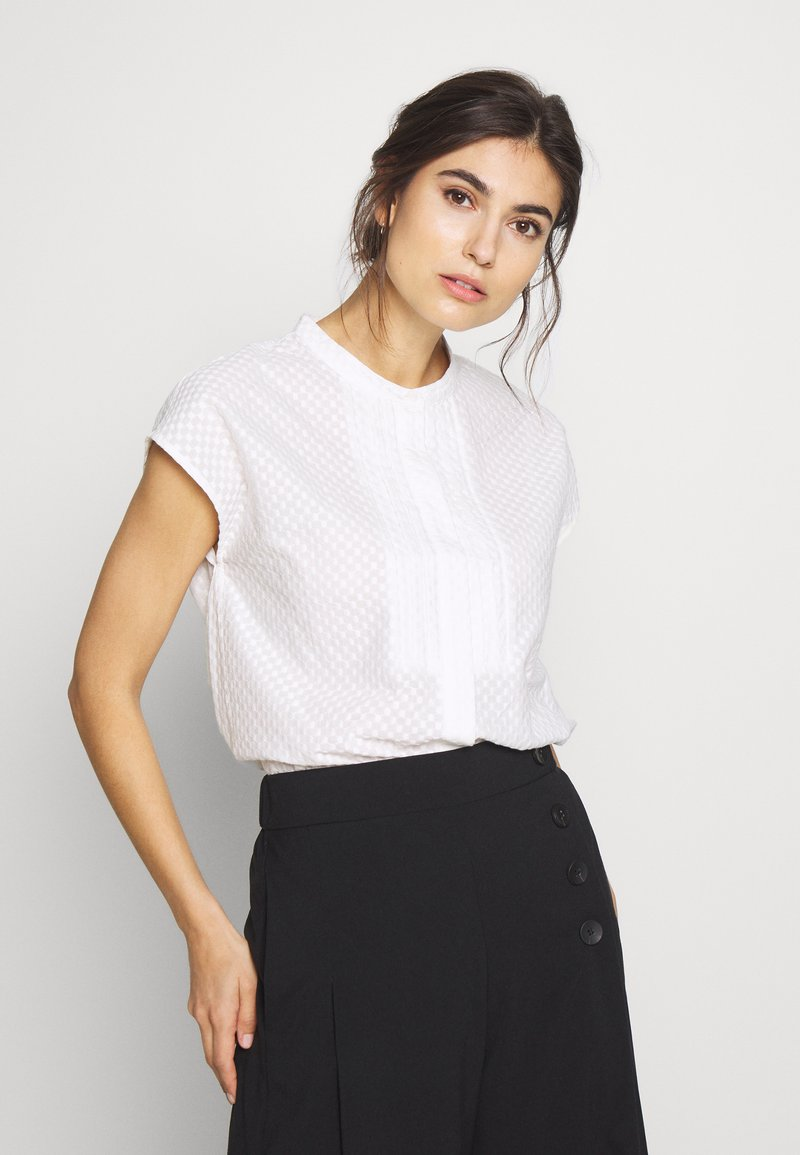 And Less - Blouse - brilliant white