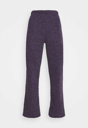 TRACEY TROUSERS - Bukse - purple marl