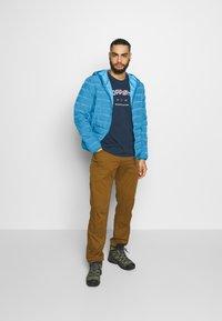 CMP - MAN JACKET FIX HOOD - Outdoor jacket - denim - 1