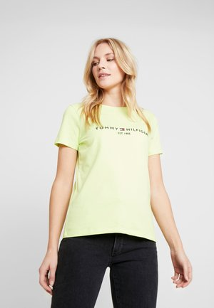 NEW TEE  - T-shirts med print - hyper yellow