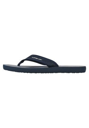 LOAQ AOP - T-bar sandals - dk saru blue