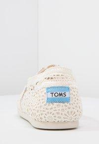 TOMS - ALPARGATA - Slip-ons - natural - 3